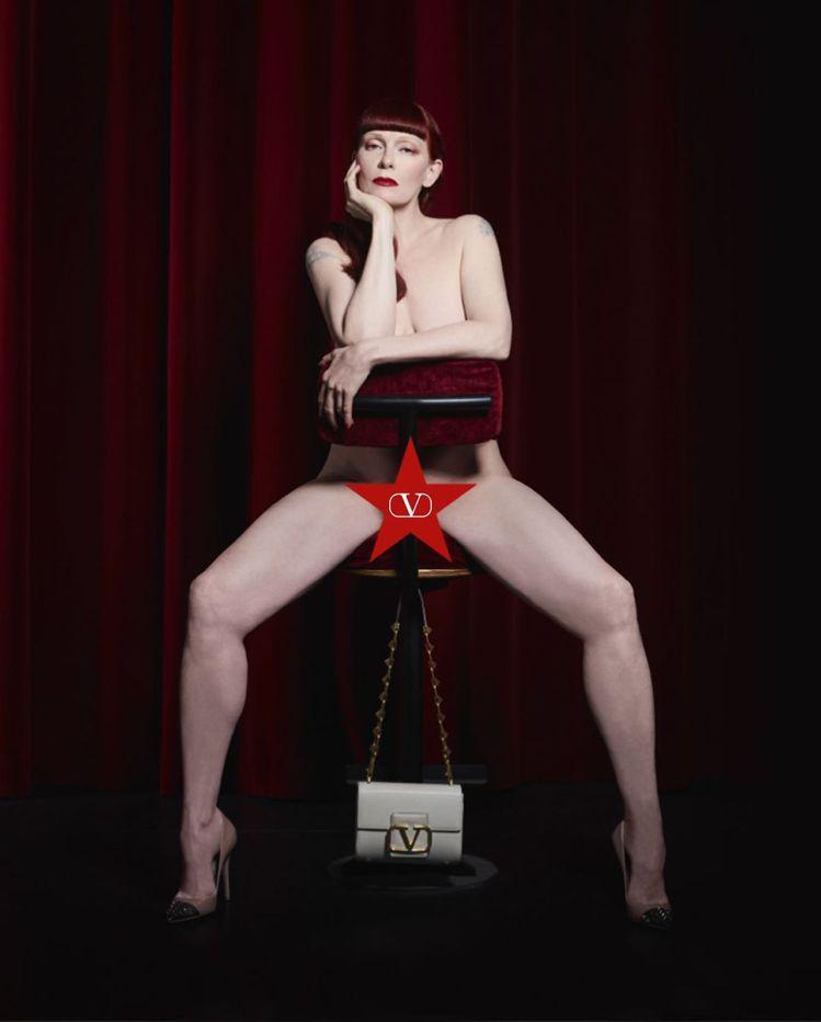 珠寶設計師Betony Vernon為#VLogoSignature系列拍攝性感...
