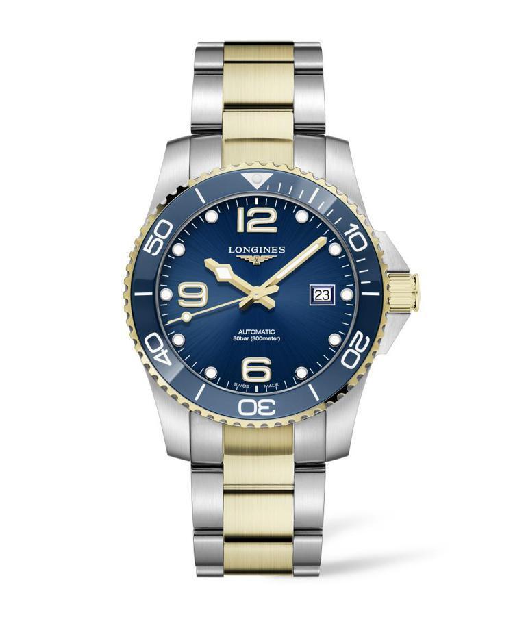 浪琴表深海征服者HydroConquest腕表,58,800元。圖/浪琴表提供。