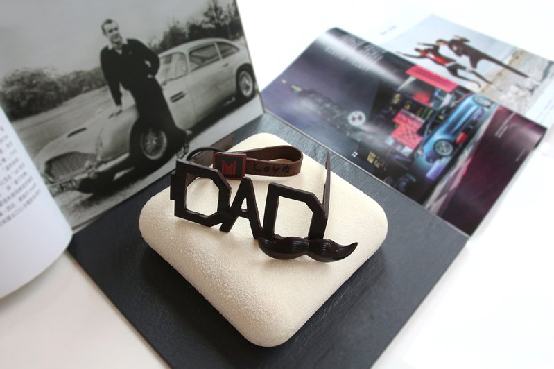 「2021阿爸的目鏡」父親節蛋糕。圖/日月千禧提供
