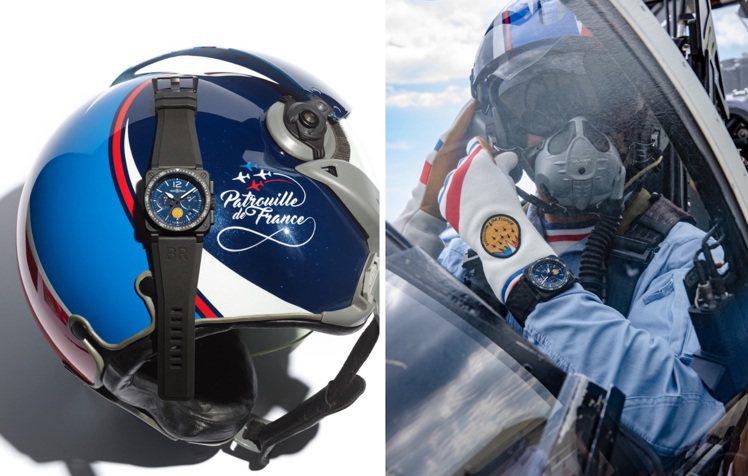 柏萊士(Bell & Ross)今年二月時甫宣布:和法國「巡邏兵飛行表演...