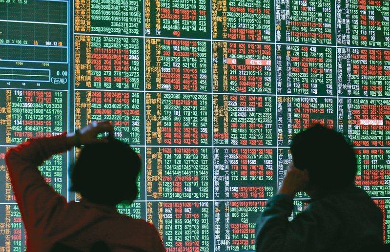 台股今(21)日收盤下跌69.95點。  聯合報系資料照