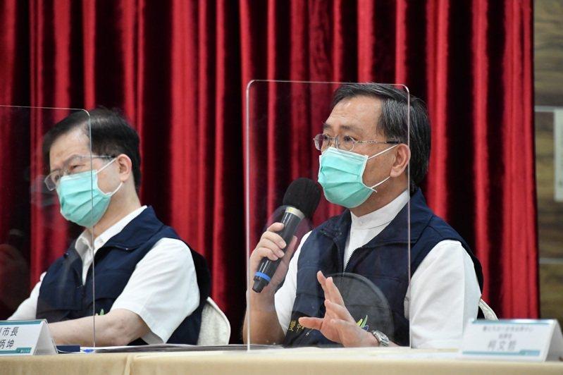 台北市副市長蔡炳坤(右)。圖/北市府提供