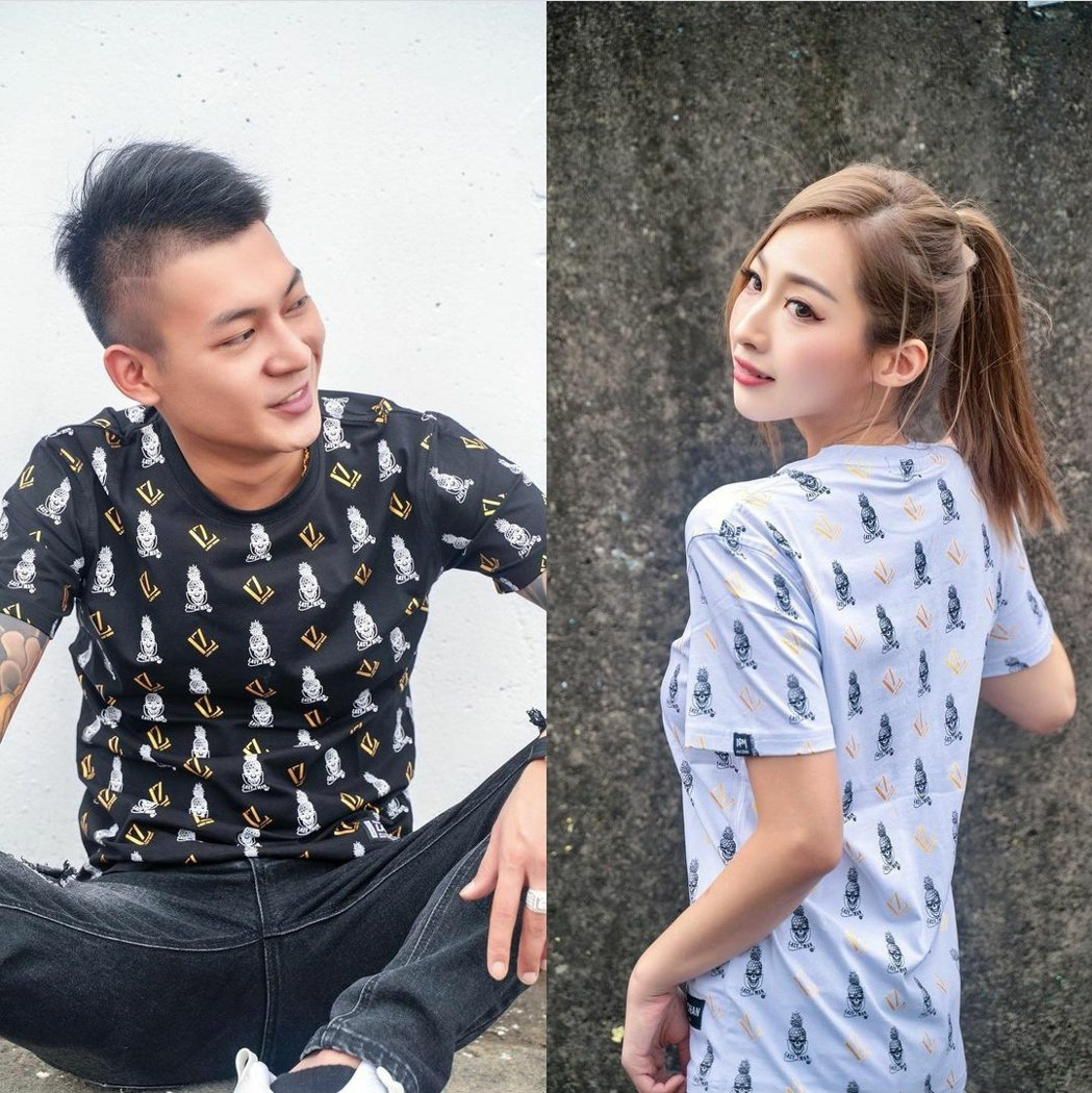 歐菈是鳳梨服裝品牌的麻豆。圖/摘自IG