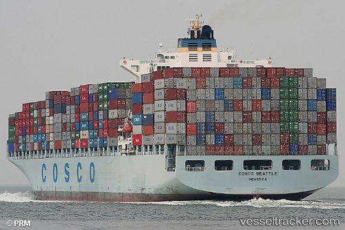 中遠海控公司(COSCO)是中國最大的遠洋運輸公司。(網路照片)