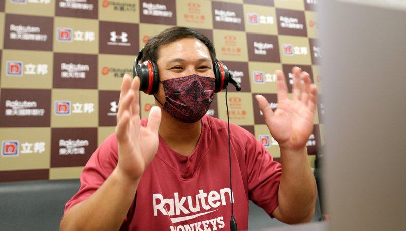 陳俊秀本季目前坐擁近四成的高打擊率。圖/中華職棒提供