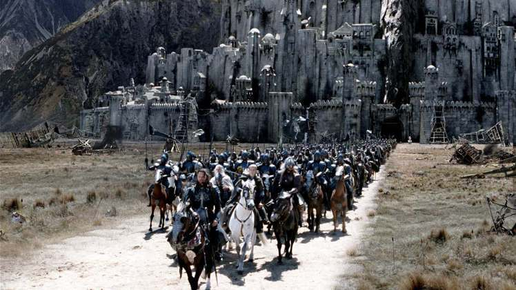 《魔戒三部曲:王者再臨》的壯觀場面在紐西蘭拍攝。圖/取自themoviedb.o...