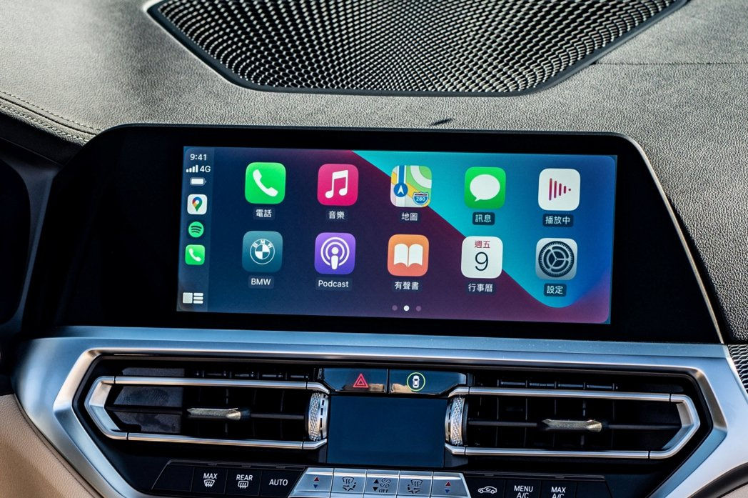 全新4系列Convertible敞篷跑車配備BMW智慧語音助理2.0、無線智慧型...