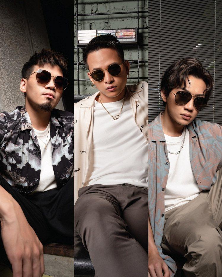 雷朋眼鏡(Ray-Ban)相中茄子蛋樂團特色,在新品上市之際,邀請三位團員來示範...