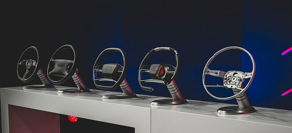 Audi於1980年代推出液壓動力轉向系統,讓方向盤開始變得更小巧、更易操控,1...