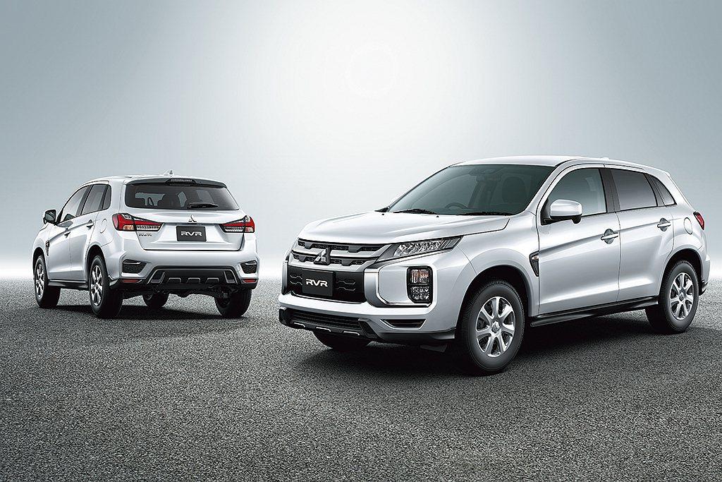 新年式日規三菱RVR新增鑽石白新車色可選。 圖/Mitsubishi Motor...