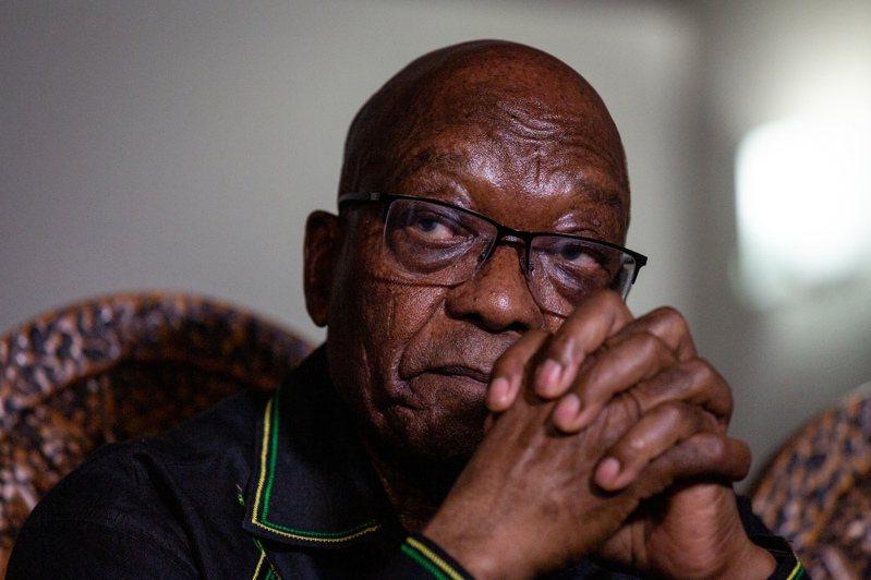 南非前總統朱瑪。 歐新社