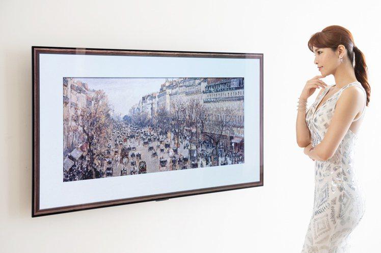 LG OLED evo創視際G1全新零間隙畫廊系列,細膩逼真的影像表現與零間隙壁...