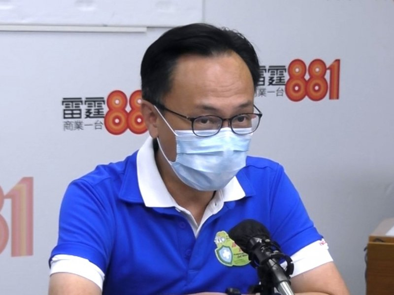 香港公務員事務局局長聶德權。商業電台