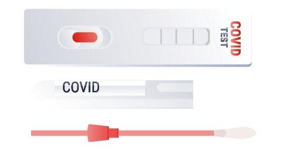 居家快篩試劑屬於第三級醫療器材,不得於網路上販售。圖/123RF