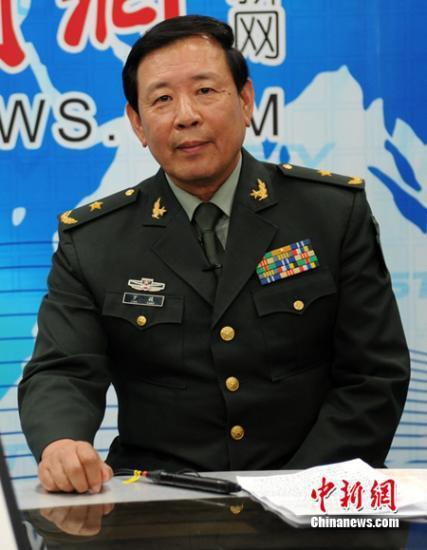 共軍少將羅援。中新社
