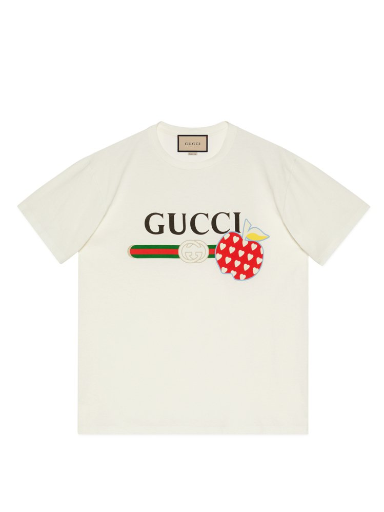 Les Pommes七夕情人節特別系列T-Shirt,19,500元。圖/GUC...