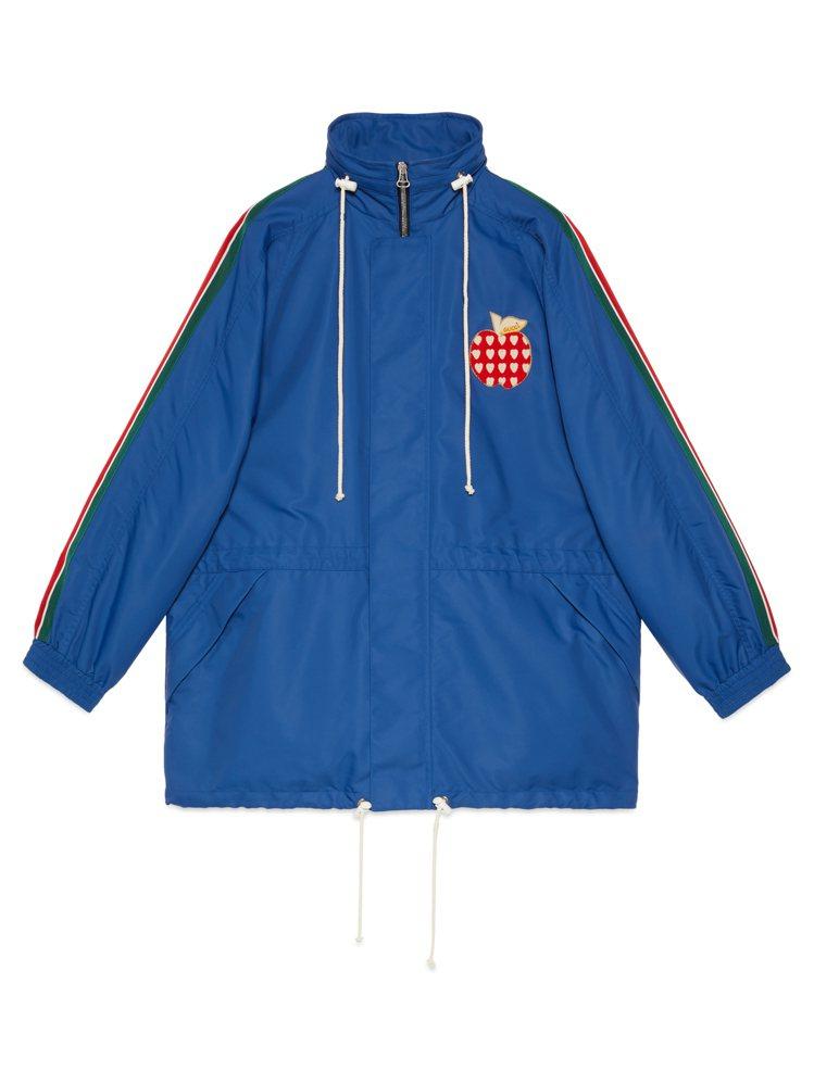 Les Pommes七夕情人節特別系列運動外套,75,000元。圖/GUCCI提...
