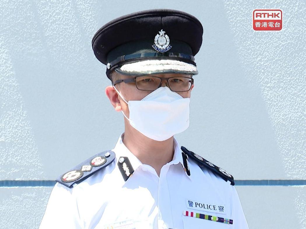 香港警務處長蕭澤頤說,到港大搜證是要調查相關人士的背後意圖及目的。香港電台