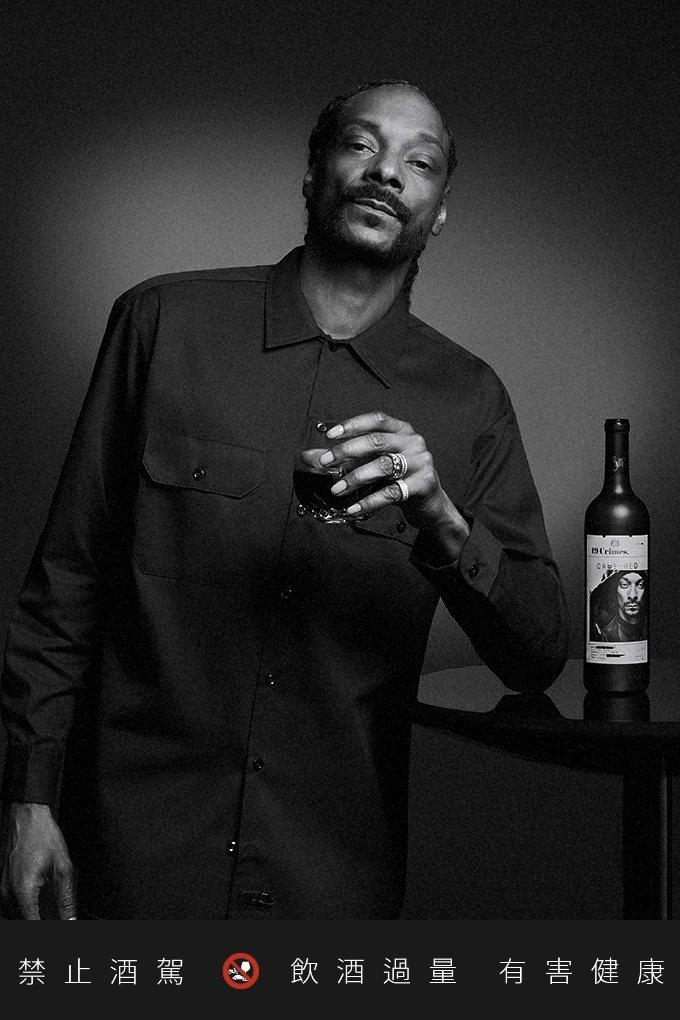 19 Crimes品牌理念與史努比狗狗的形象不謀而合,讓聯名酒款Cali Red...