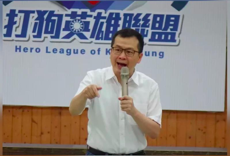 國民黨台北市議員羅智強。本報資料照片
