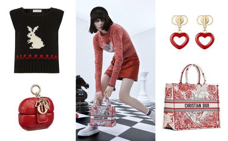 DIOR今年度DiorAmour膠囊系列正式登場,同時慶祝七夕情人節。圖/DIO...