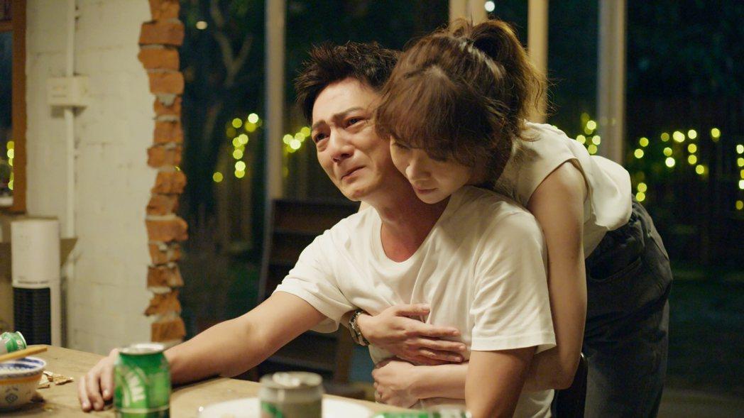 藍葦華、謝盈萱在「俗女2」的「森玲CP」情感受考驗。圖/華視、CATCHPLAY