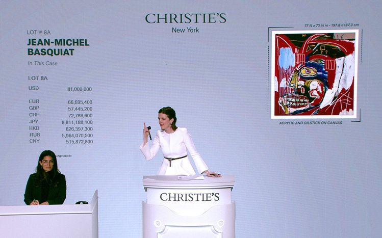 佳士得於五月以嶄新形式呈獻20及21世紀藝術拍賣。圖/佳士得提供