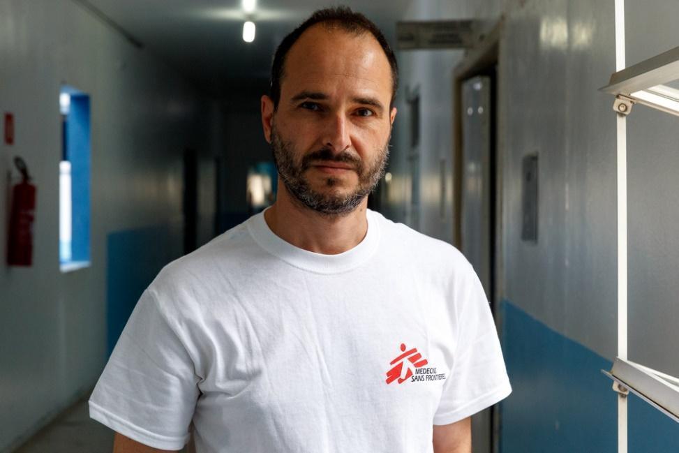 無國界醫生國際主席克里斯托醫師Dr Christos Christou。 圖/無...
