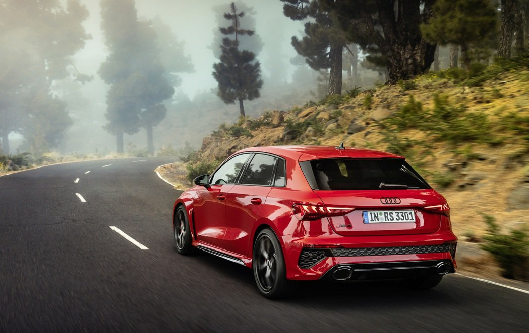 Audi RS 3 Sportback。 摘自Audi