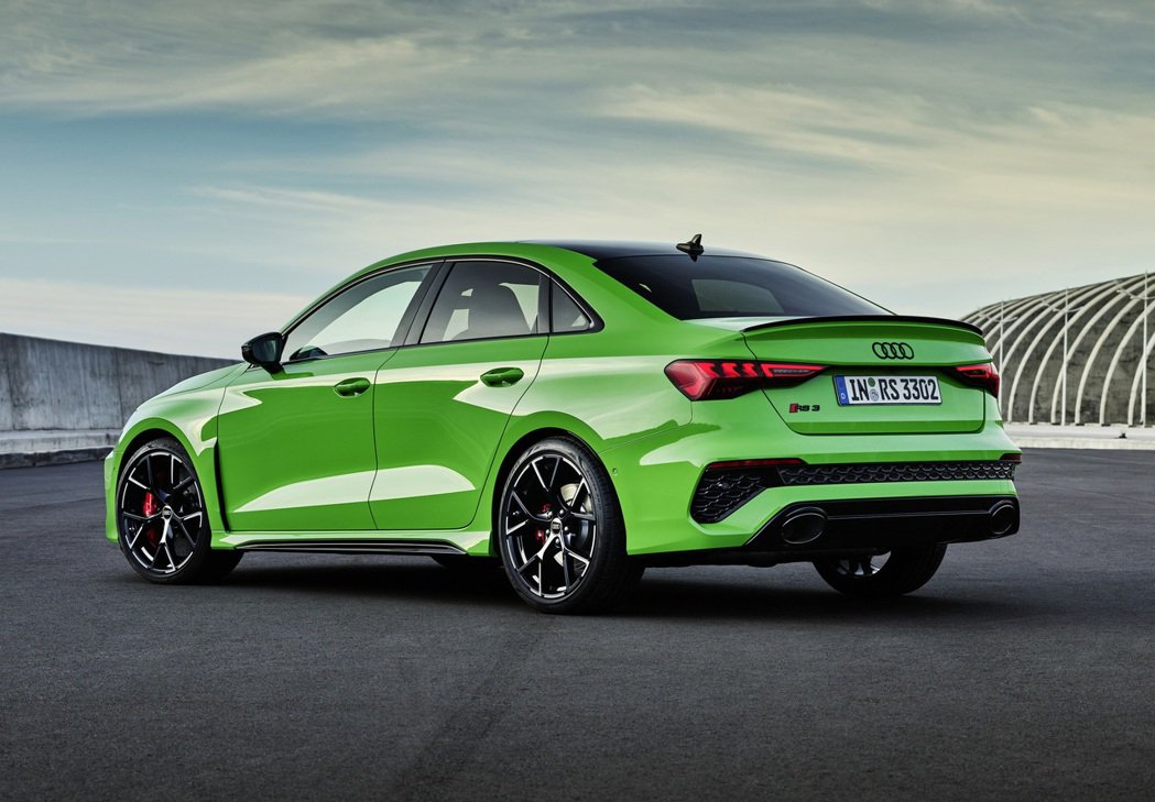 Audi RS 3 Sedan。 摘自Audi
