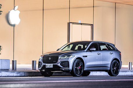 全新英式豹力美學!小改款Jaguar F-Pace正式登台