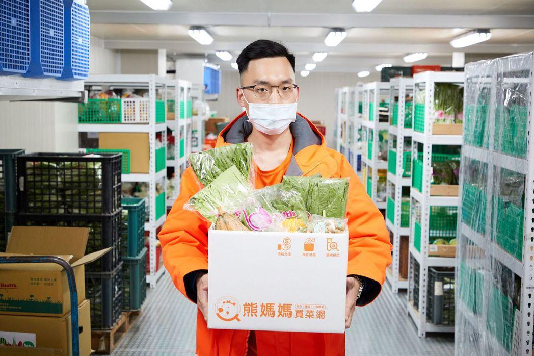 東森購物網旗下的熊媽媽買菜網, 5-6月業績大幅成長,針對消費者需求推出的「宅安...