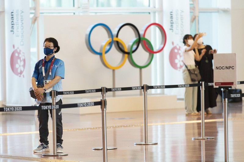 許多日本民眾對即將到來的奧運感到憂心。 美聯社