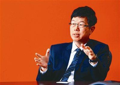 鴻海董事長劉揚偉。 聯合報系資料照片/記者杜建重攝影