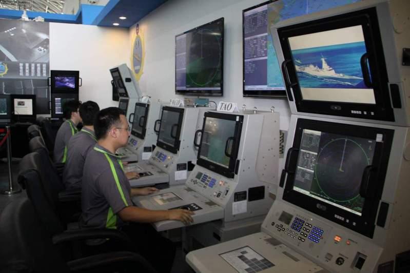 海軍建造新一代巡防艦原型艦,中科院「迅聯」科研案的研發成果無法滿足海軍需求。圖/中科院提供