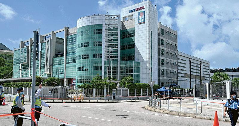 香港壹傳媒遭到國安法重擊,多名高層接受調查,香港蘋果日報結束營運。香港明報