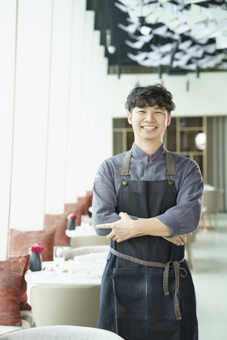 MiraWan甜點主廚戴峻弘。圖/MiraWan提供。