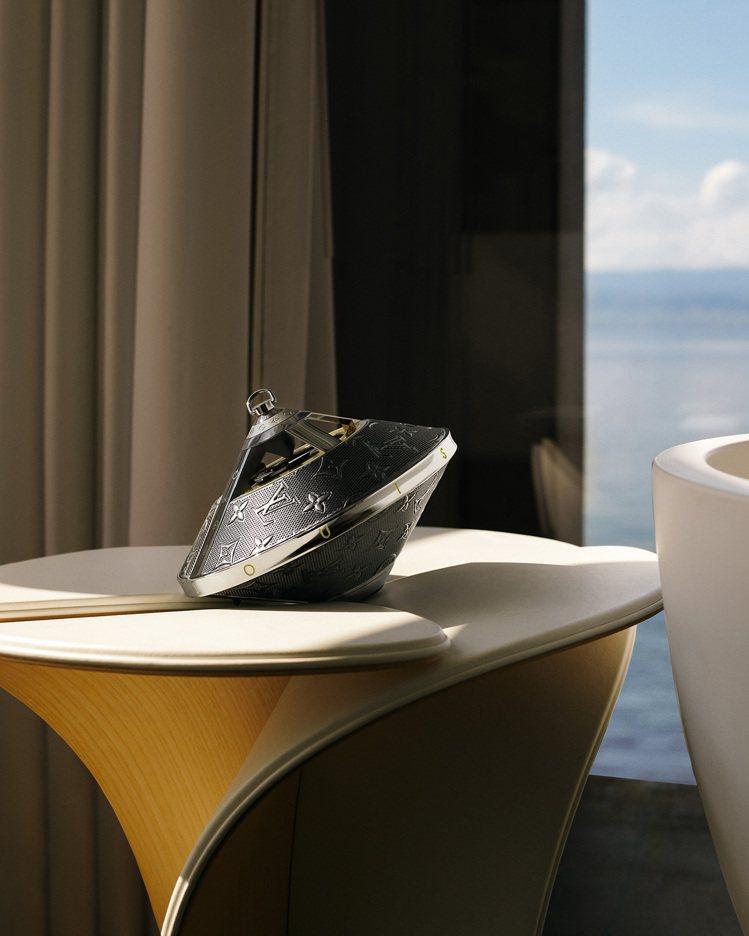 無線攜帶式Horizon Light Up揚聲器,是由LV女裝設計總監Nicol...