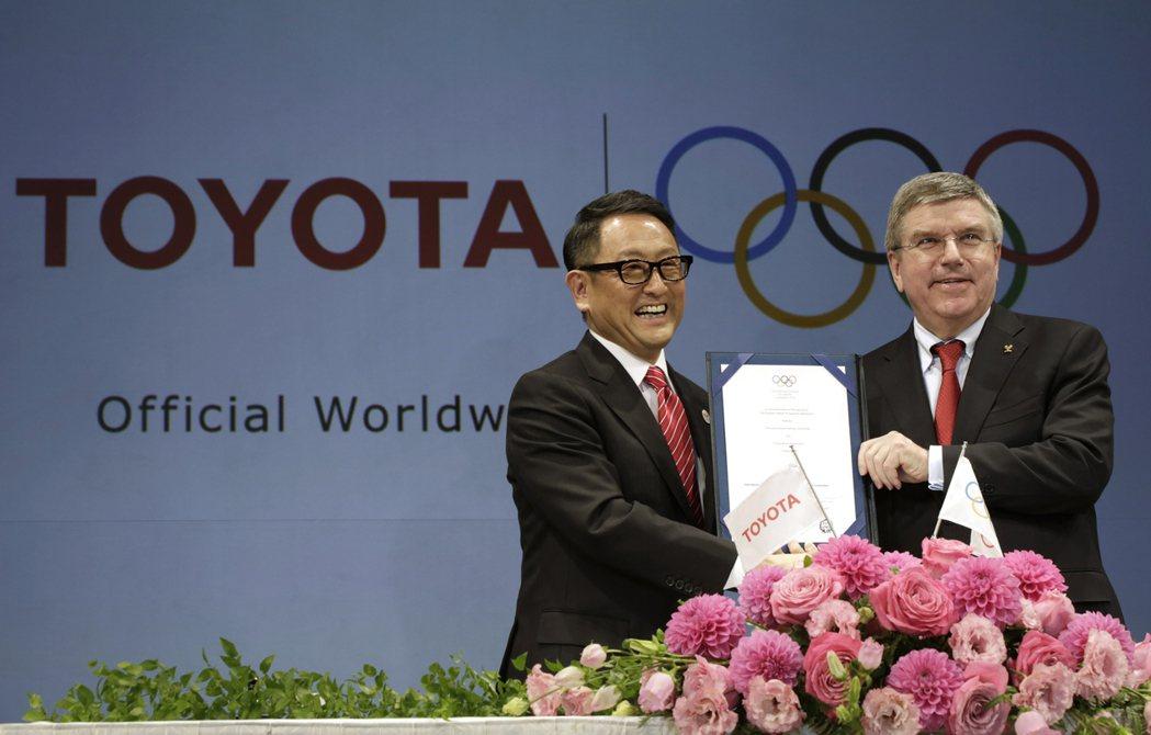 2015年3月13日,豐田簽約成為奧運史上首家汽車贊助商,據傳10年合約金額將近...