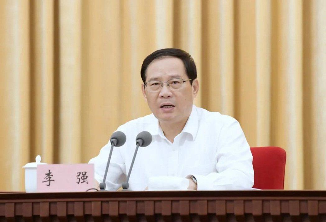 上海市委書記李強。上海發布