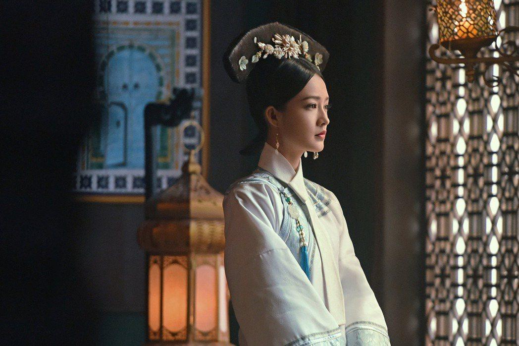 李沁在「如懿傳」飾演「最美香妃」。圖/中天娛樂台提供