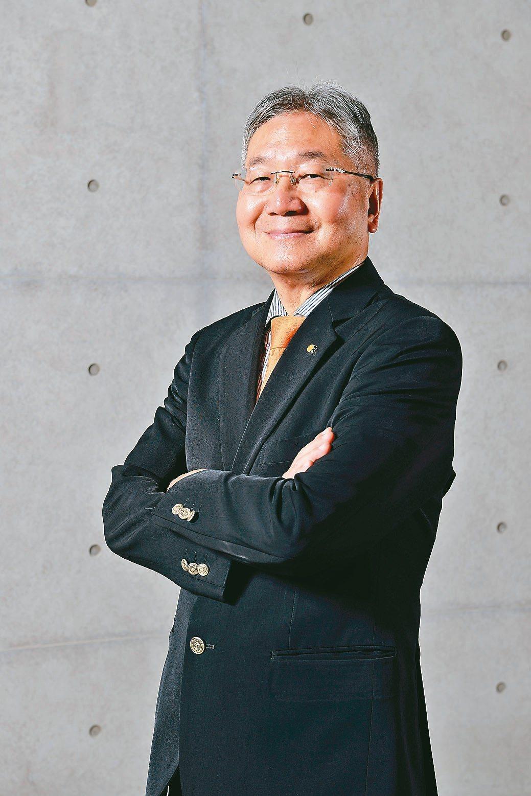 台中精機董事長黃明和。台中精機/提供