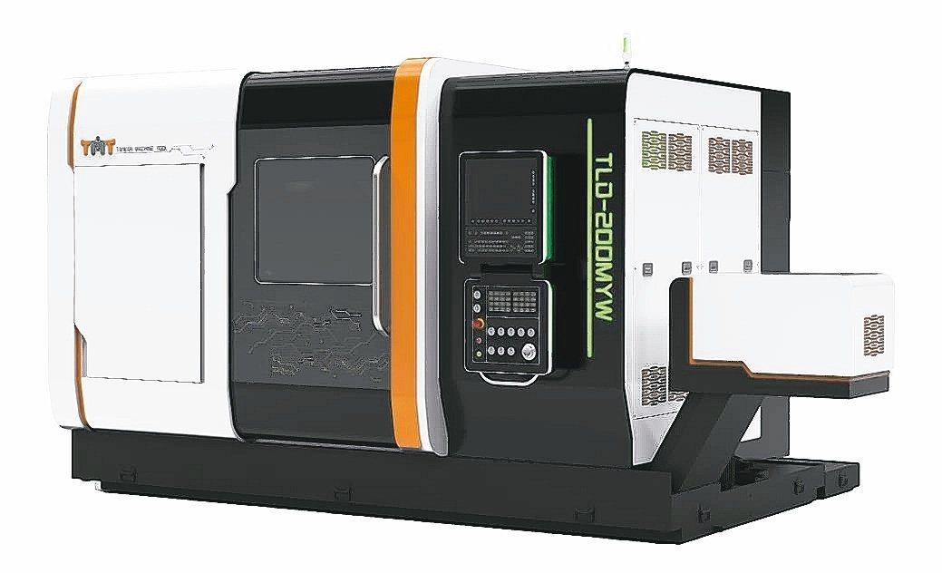正代機械「TMT」以客戶端需求推出具高剛性、雙主軸雙刀塔TLD-200AMYW數...