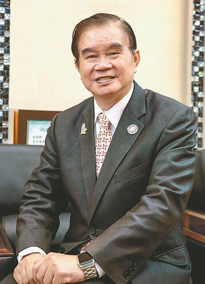 臺灣機械公會常務理事暨富偉科技集團總裁蕭文龍。富偉科技/提供