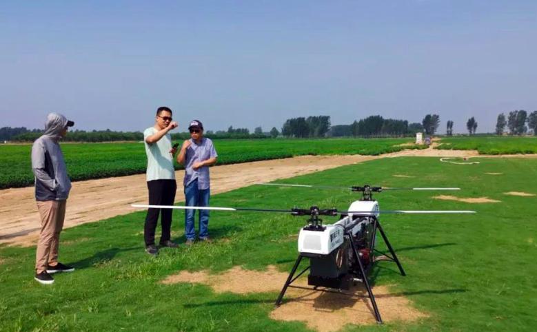 5G+無人機緊急搶險勘測飛行訓練現場。(香港文匯網)