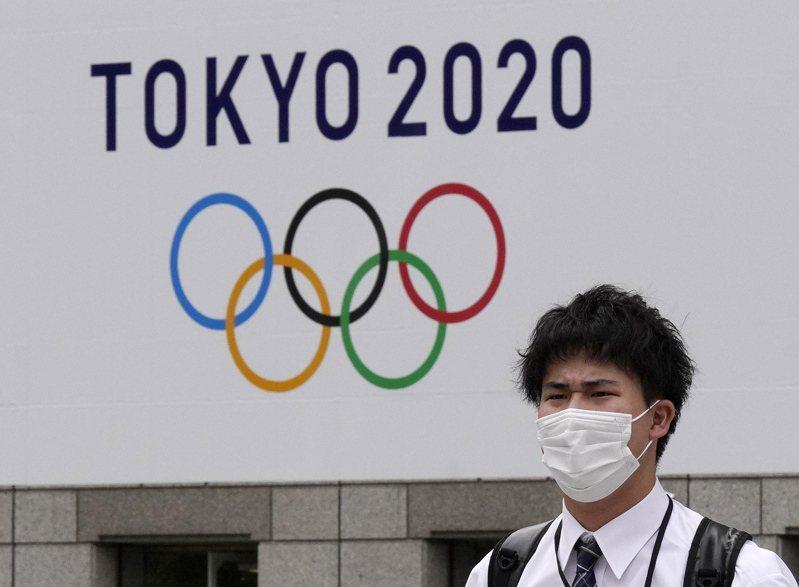 因疫情延後一年舉辦的東京奧運,即將在周五(23日)開幕。 (歐新社)