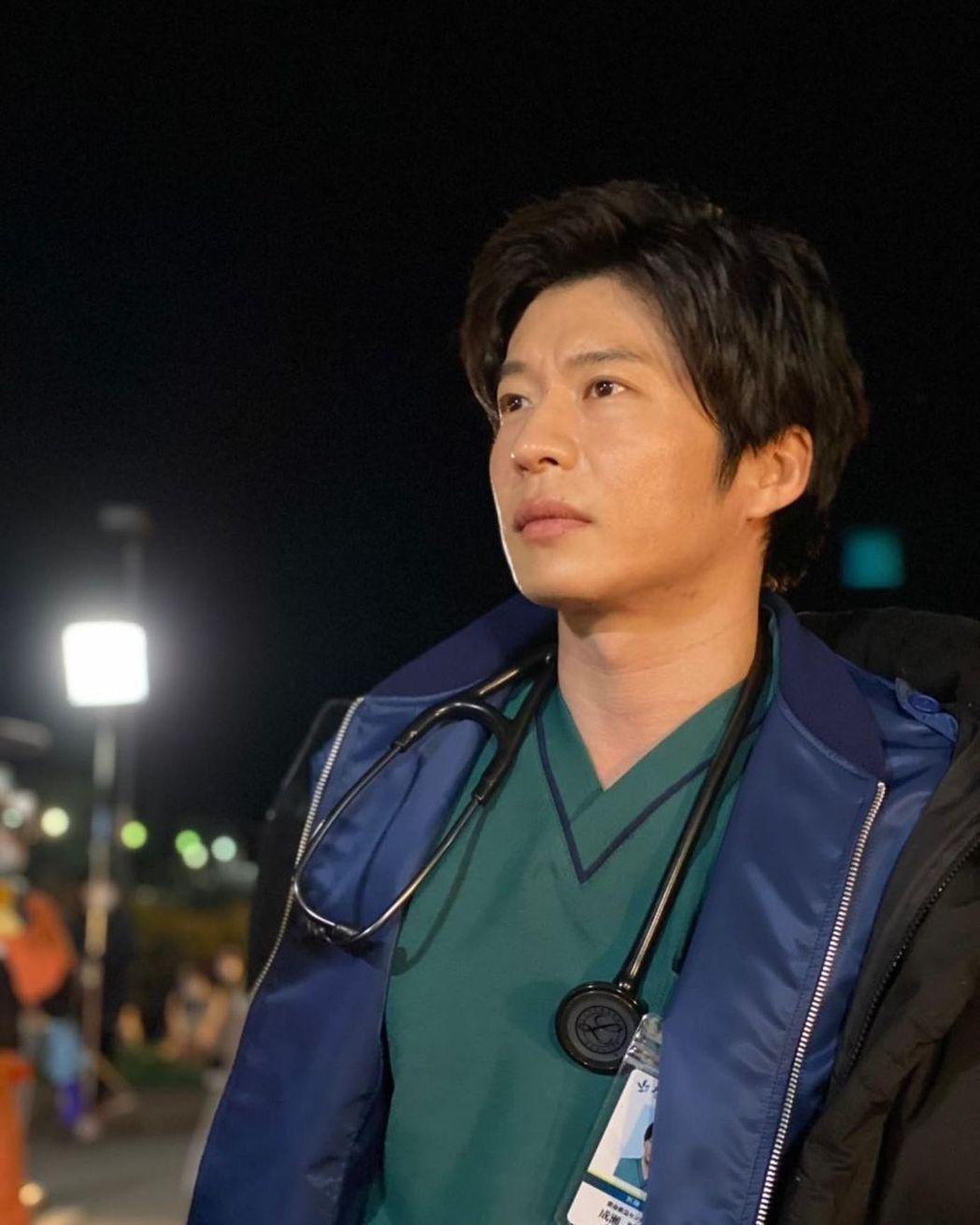 田中圭確診感染新冠肺炎。 圖/擷自IG
