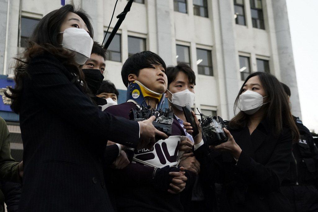 2020年韓國「N號房事件」主嫌趙周斌在同年3月被捕。 圖/美聯社