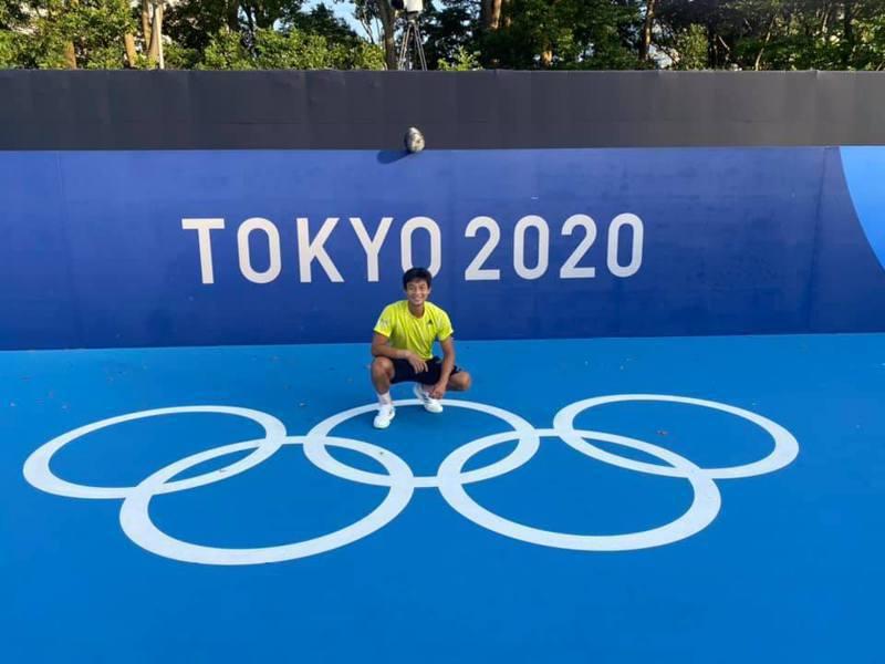 五度獲選奧運參賽資格的台灣好手盧彥勳已到達東奧現場備戰。 取自盧彥勳臉書