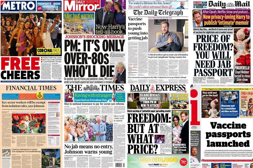 儘管目前趨勢多預估英國能如願度過這波「全民臨床試驗」,但如果染疫規模不只10萬而...